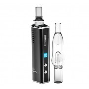 ecapple iv-1 2in1 vaporizer with water bubbler | dry herb & wax