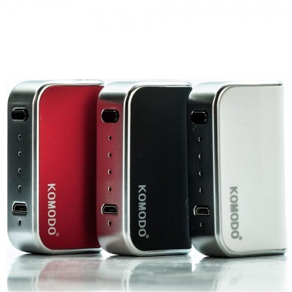 Komodo C5 - Wax & Oil Cartridge Box Mod Vaporizer | V-Mod Battery
