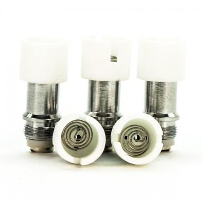 Wax Atomizer Tank Replacement Coils | Pancake 5-Pack