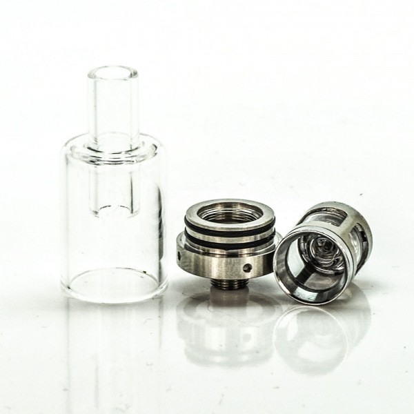 GypsyVapes Spark Wax Vape Pen Atomizer | Glass Cup Quartz Coil