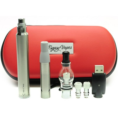 ego twist 2in1 starter kit 1300mah | dry herbs & wax