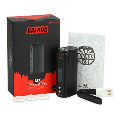 UD Balrog 70w TC | Authentic Youde Temperature Control Mod and Tank