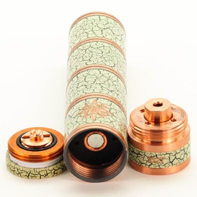 Victoria Bamboo Mechanical Vape Mod Clone - Antique Paint