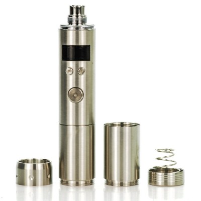 Vamo V5 25W regulated tube mod | stainless steel 510 thread 18650 or 18350 battery