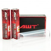 AWT IMR 18650 3000MAH 50A 3.7V ion batteries 2-Pack