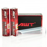 AWT IMR 18650 3000MAH 50A batteries 2-Pack