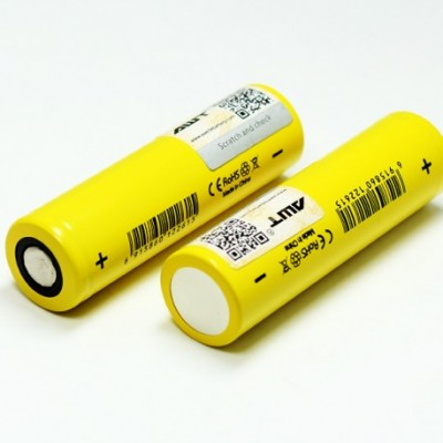 AWT IMR 18650 2600MAH 40A 3.7V FLAT-TOP BATTERY
