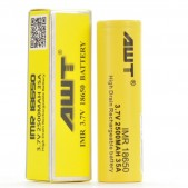 AWT IMR 18650 2500MAH 35A 3.7V FLAT-TOP BATTERY