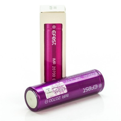 Efest IMR 20700 3000mah 30A rechargeable battery