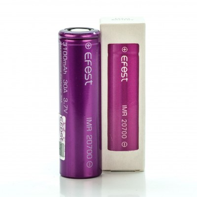 Efest IMR 20700 3100mah 30A rechargeable battery