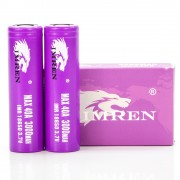 Imren IMR 18650 3000mah 40A | 2-Pack | flat top high drain li-ion rechargeable batteries