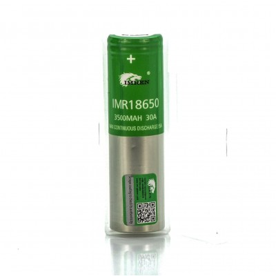 Imren IMR 18650 3500mah 30A 3.7V battery