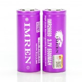 Imren IMR 26650 5500mah 60A 3.7V batteries | 2-Pack |