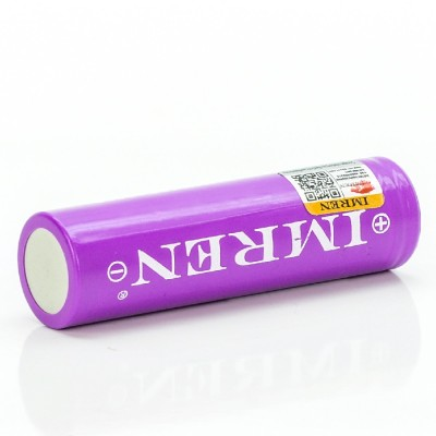 Imren 18650 3000mah 40A flat top high drain rechargeable battery
