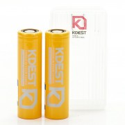 KDest 18650 3200mAh 60A Batteries | 2-Pack