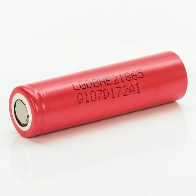 LG HE2 18650 2500MAH 35A 3.7V rechargeable battery LGDBHE21865