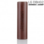 LG HG2 IMR 18650 3000MAH 20A rechargeable battery  | LGDBHG21865 ion batteries