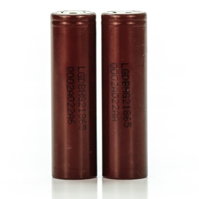LG HG2 IMR 18650 3000MAH 20A rechargeable batteries | 2-Pack | LGDBHG21865 ion battery