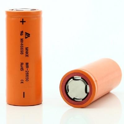 MNKE IMR 26650 3500mAh 3.7V 30A high drain battery