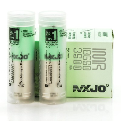 MXJO 18650 3500mah 20A Batteries | 2-Pack |