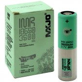 MXJO IMR 18650 3500MAH 20A 3.7V battery | flat top lithium high drain li-ion rechargeable batteries