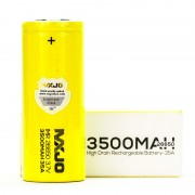 MXJO IMR 26650 3500MAH 35A 3.7V battery | flat top lithium high drain li-ion rechargeable batteries
