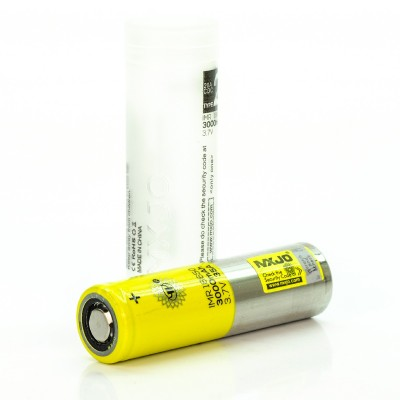 MXJO IMR 18650 3000MAH 35A 3.7V battery | flat top lithium high drain li-ion rechargeable batteries