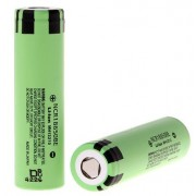 Panasonic NCR18650BE 3200mAh 3.7V | 2-Pack | Li-lon rechargeable flat top batteries NCR 18650