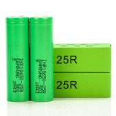 Samsung 25R 18650 2500mAh Batteries | 2-Pack |