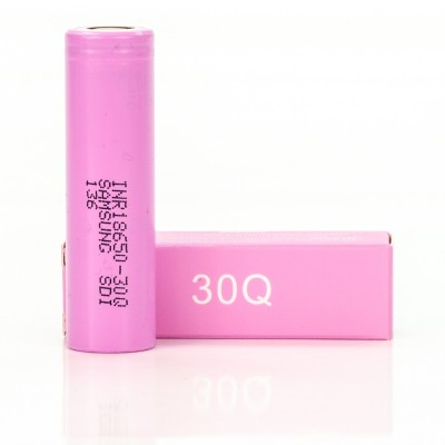 Samsung 30Q IMR 18650 3000mAh 15A rechargeable battery | li-ion INR18650-30Q