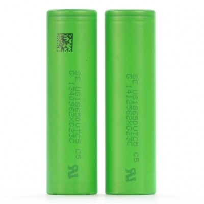 2x Sony US18650VTC5 | 2600 mAh 30A 3.7V battery 18650 VTC5
