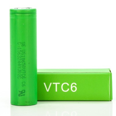 Sony US18650VTC6 | 3000 mAh 35A 3.7V battery 18650 VTC6
