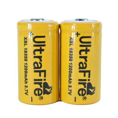 Ultra Fire IMR 18350 1200mAh 3.7V (4.1W) battery