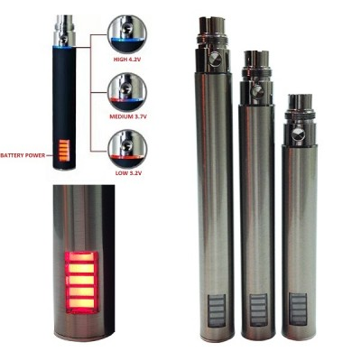 Ego VV 900mah (variable voltage) vaporizer battery with led light