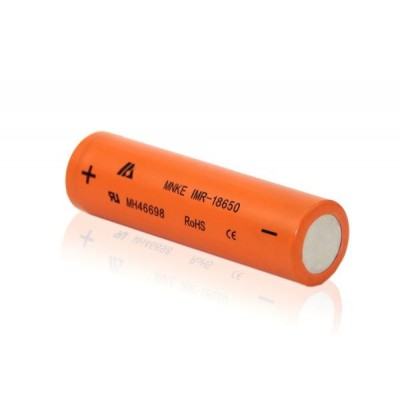 MNKE 18650 1500mAh 3.7V 30A HIGH DRAIN Battery IMR