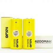 MXJO IMR 26650 4200MAH batteries | 2-Pack |