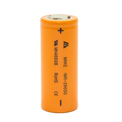 MNKE 26650 3500mAh 3.7V 30A HIGH DRAIN Battery IMR