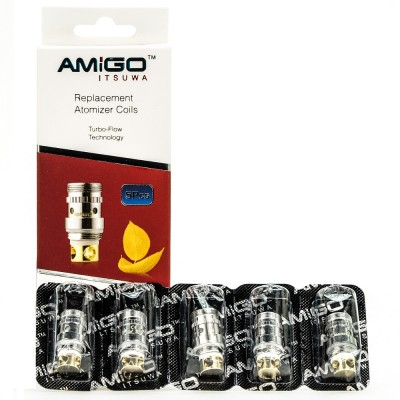 Amigo Itsuwa Mini Driptide Replacement Coil | Riptide Mini - Pack of 5 Coils