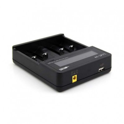 Efest LUC V4 4-bay universal battery charger with LCD display