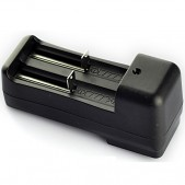 Dual Slot Universal Ecigarette 3.7V Battery Wall Charger