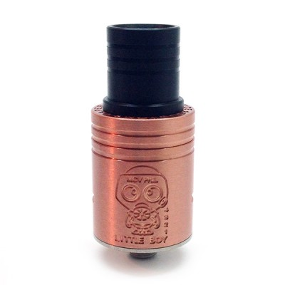 Sir Lancelot Mechanical Mod and Little Boy RDA Kit Black Copper Clone