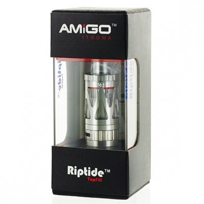Amigo Riptide V2 by Itsuwa | Top Filling Sub-Ohm Tank 3.5ml