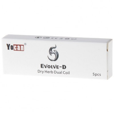 Yocan Evolve D Replacement Coils 5-Pack