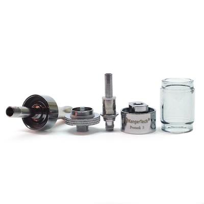 Kangertech Protank 3 Dual Coil Glassomizer (2.5mL) Kanger Purex Glass
