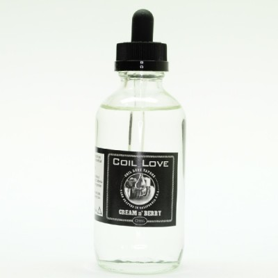 Cream n Berry E Juice by Coil Love Vapors 120ml