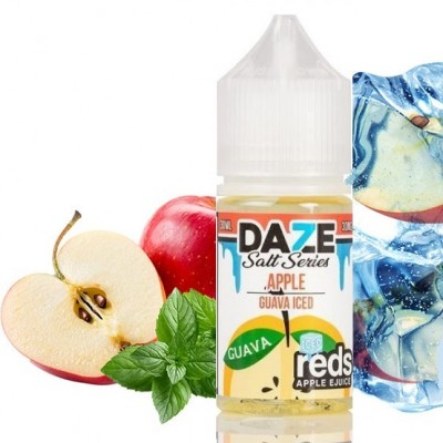 7 DAZE Salt - Reds Apple Guava Iced 30ml