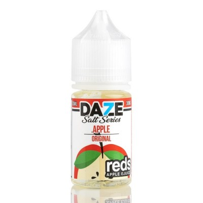 7 DAZE Salt - Reds Apple 30ml