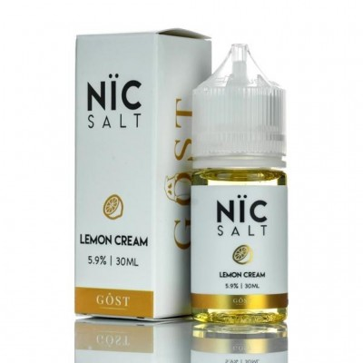 Gost Nic Salt - Lemon Cream 30ML SaltNic