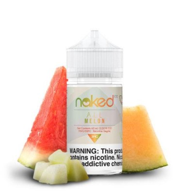 Naked 100 eLiquid - All Melon 60ml
