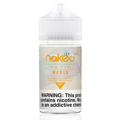 Naked 100 eLiquid - Amazing Mango Ice 60ML